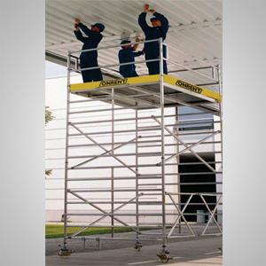 extra wide scaffold systems