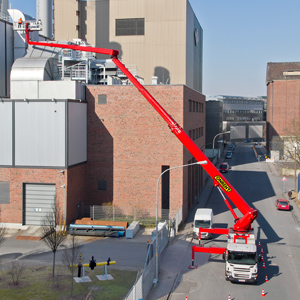 Truck Mounted Aerial Working Platform